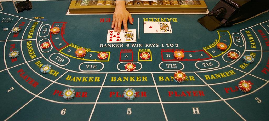 online Baccarat Table Layout